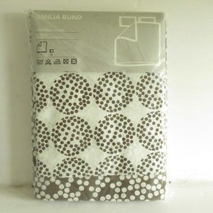 New Ikea Emilea Rund Full Queen Duvet Cover Pillow